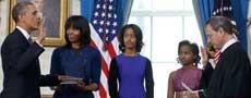 奥巴马第二任期就职典礼