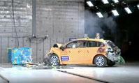 沃尔沃C30电动车碰撞测试