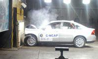 Volvo S40碰撞测试