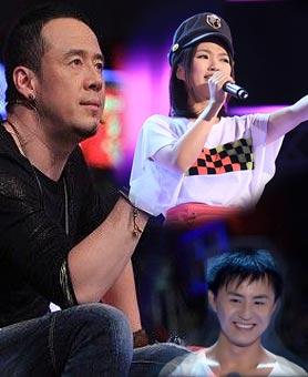 杨坤组人气选手丁丁PK唱将邹宏宇